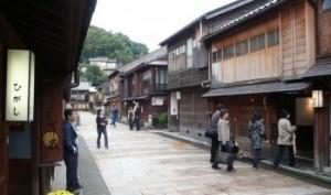 Beautifully preserved samurai houses in Kanazawa City, Ishikawa-Ken